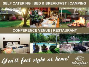 Accommodation in Oudtshoorn at Kleinplaas